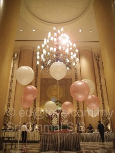 3 feet balloons helium filled